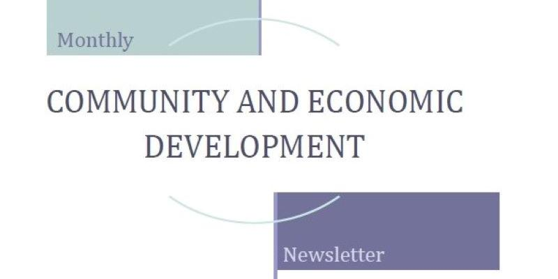 Economic and Community Development Newsletter