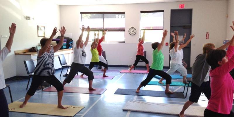 Senior Center - Join a Yoga Class